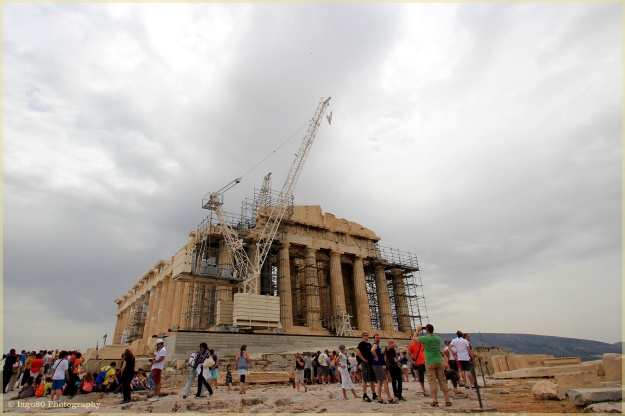 Scaffolding and Parthenon
