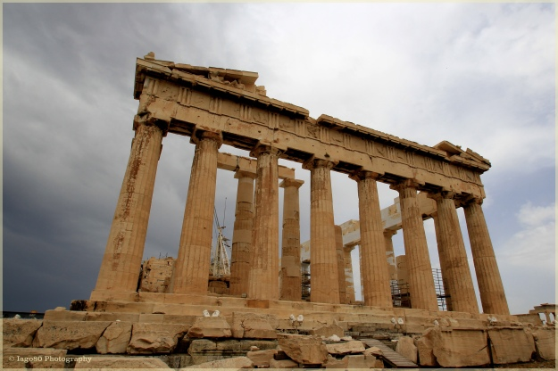 Parthenon close-up
