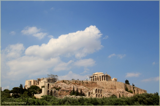 Acropolis sunny