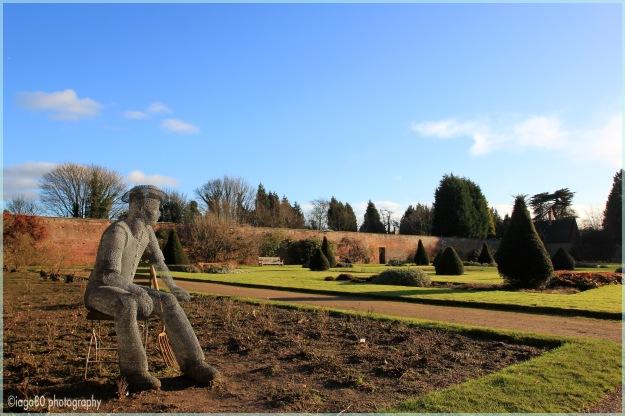 Newstead garden