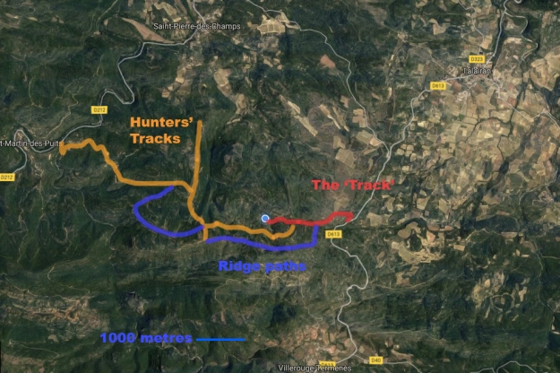 Macro map Blanes